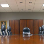 Corporate boardroom