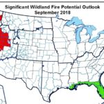 Fire risk map