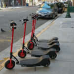 Dockless scooters