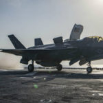 F-35B launches from the USS Essex