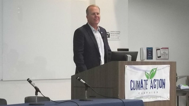 Mayor Faulconer speaks at community choice forum