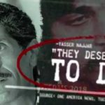 "Screen shot from Duncan Hunter campaign ad suggests that Ammar Campa-Najjar's father said ""They deserved to die,"" referring to Israelis killed in 1972 Olympic attack."
