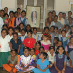 Orphans and nuns at Homes of Hope