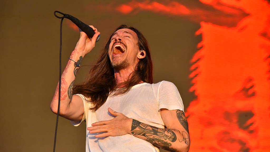 Brandon Boyd of Incubus performs at KAABOO Del Mar