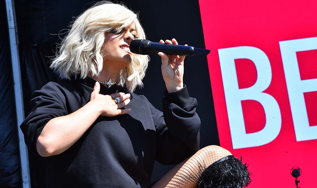 Bebe Rexha performs at KAABOO Del Mar.