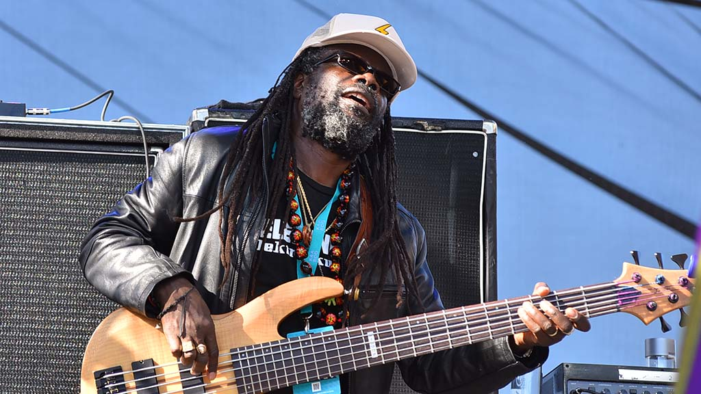 The Wailers performed at KAABOO on Saturday.