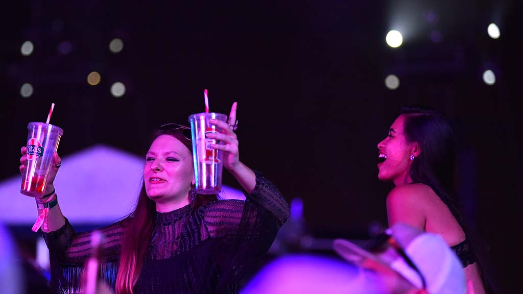 Drinks all around at KAABOO Del Mar.