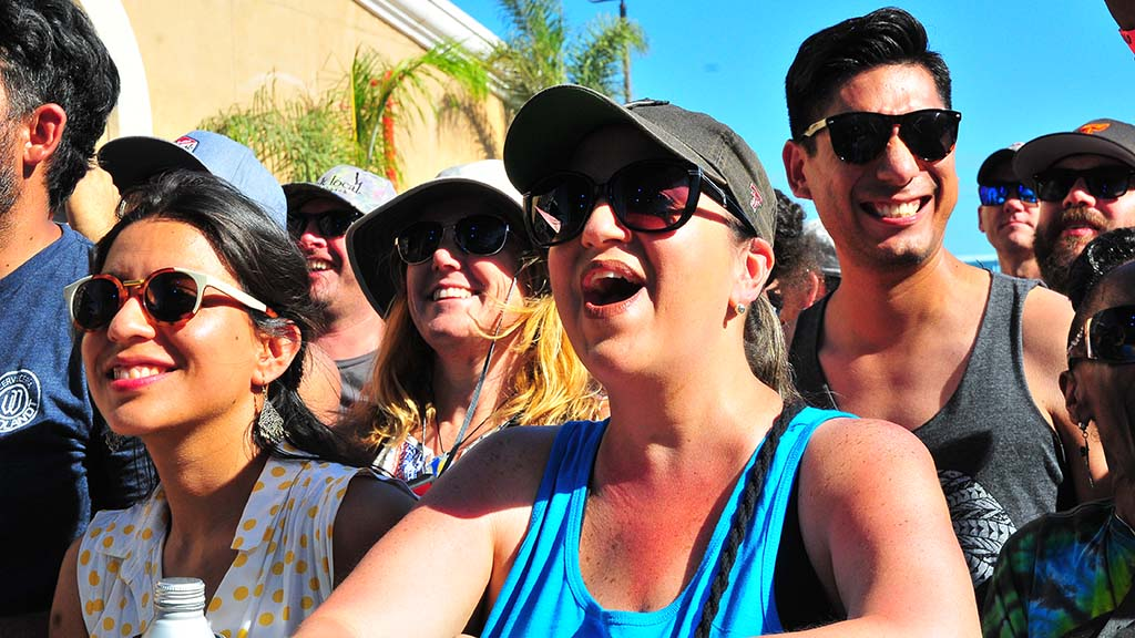 Music fans enjoy performance at KAABOO in Del Mar.