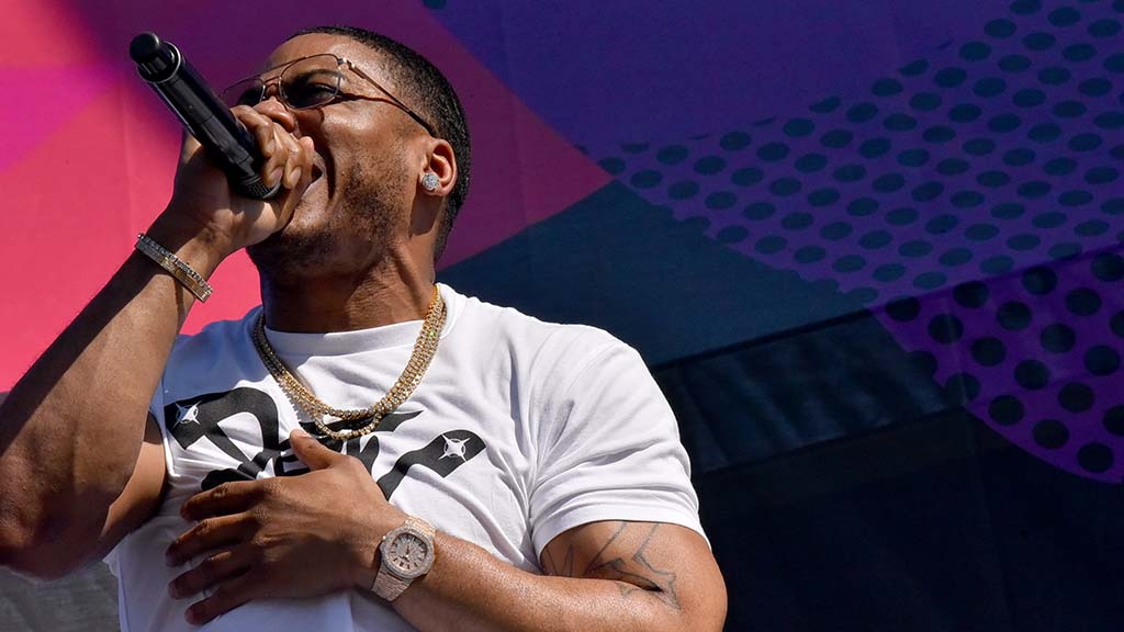 Nelly performs at KAABOO Del Mar.