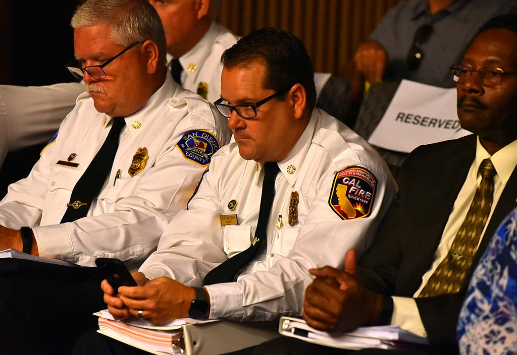 Before LAFCO hearing, Cal Fire San Diego Chief Tony Mecham