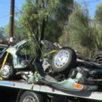 Wreckage from Lakeside crash