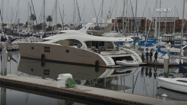 Luxury Yacht Sea Weed