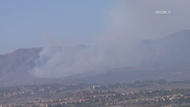 Camp Pendleton Fire