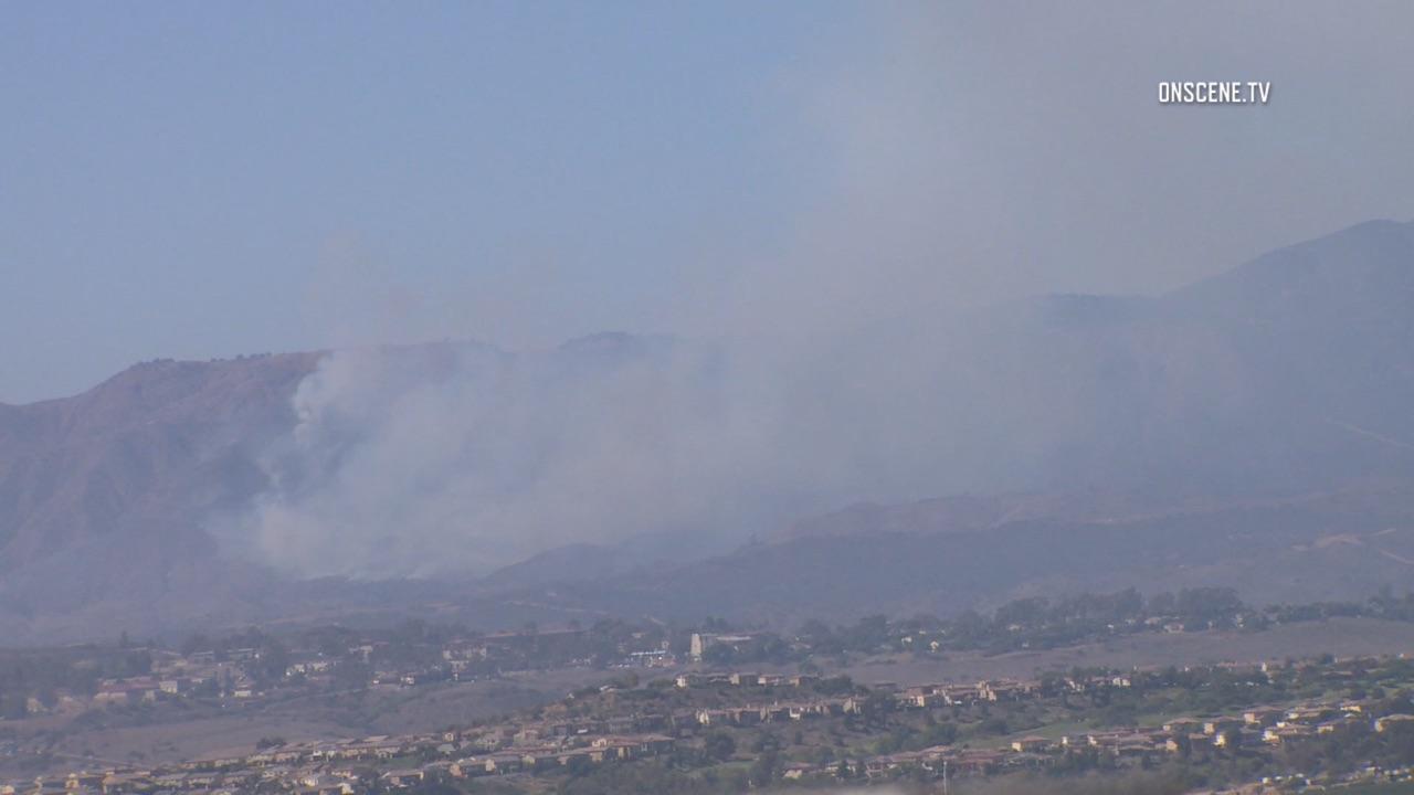 Camp Pendleton Brush Fire Sends Smoke Across Region