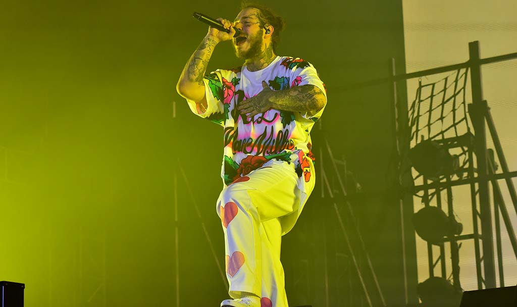 Post Malone performs at KAABOO Del Mar.