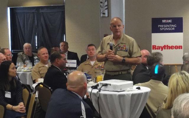 Robert Neller speaks to SDMAC