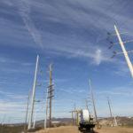 SDG&E transmission line under construction