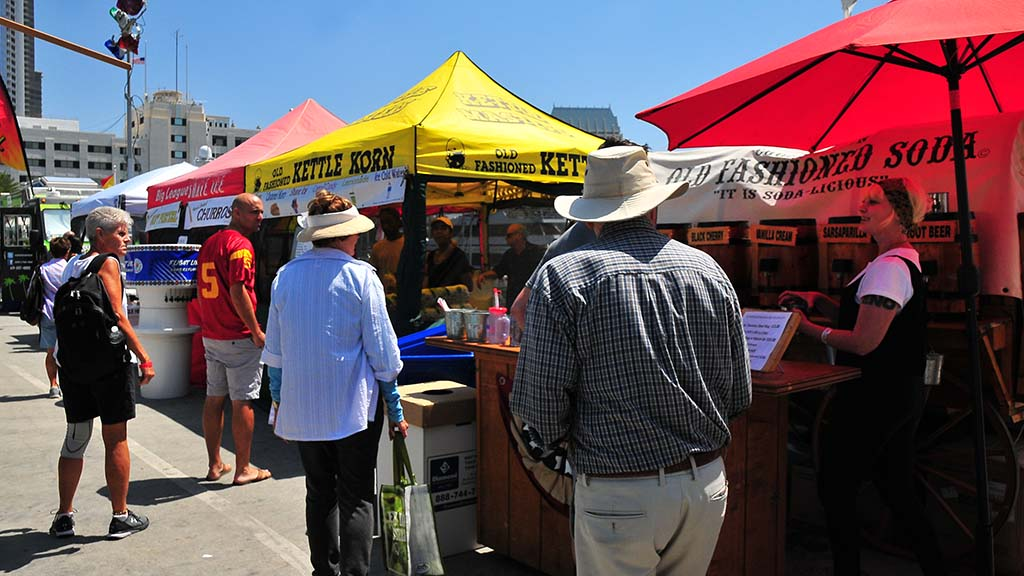 Food trucks, music and craft booths were offered at the U.S. Sand Sculpting Challenge at Broadway Pier.