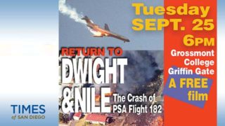 """Return to Dwight & Nile"" on the 1978 PSA air crash will screen on the 40th anniversary Sept. 25 at Grossmont College."