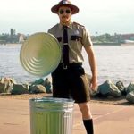 "Luke DePron of San Diego portrays ""Trash Trooper Troy"" in 2018 Port of San Diego anti-litter video."