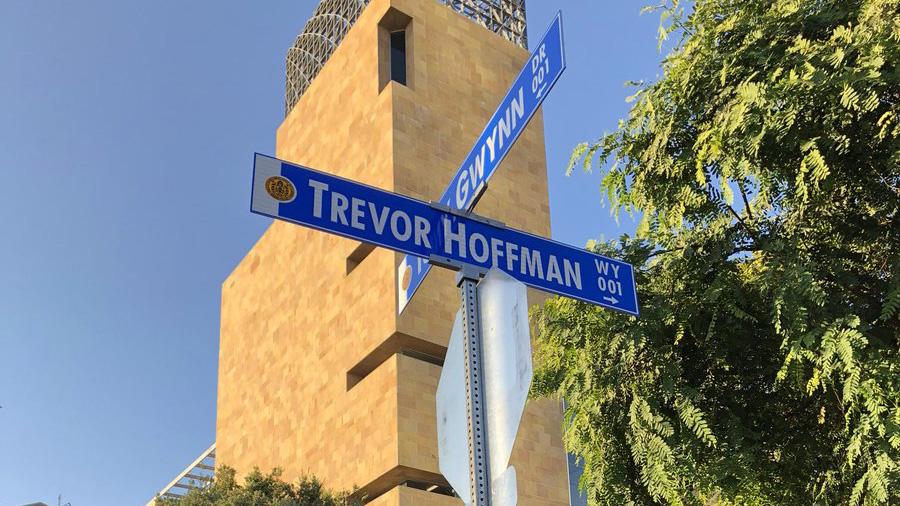 Street Named After Trevor Hoffman Unveiled