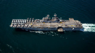 USS Essex in the Gulf of Aden