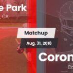 Graphic prepared for Castle Park-Coronado game, which wasn't played. I