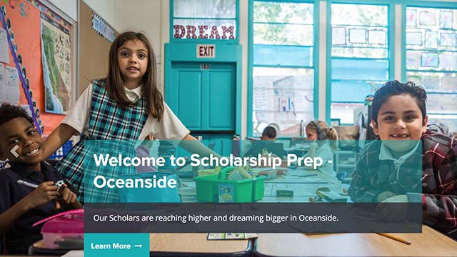 Homepage image for Scholarship Prep Charter School of Oceanside.