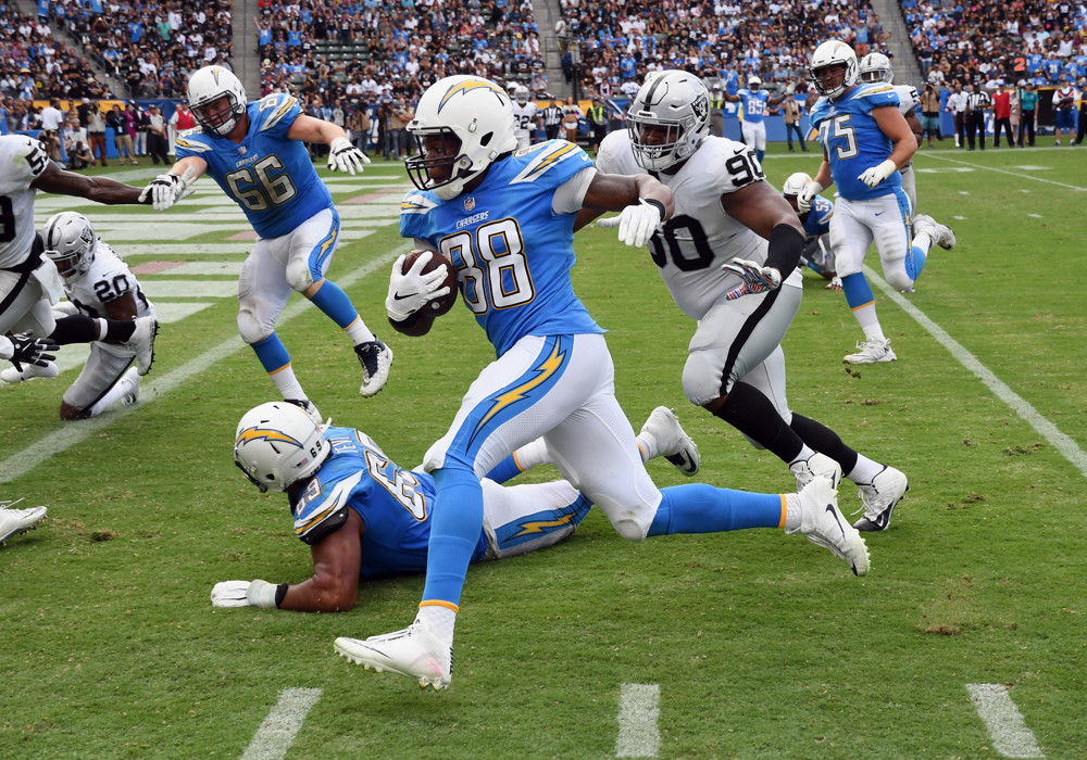 Virgil Green, Chargers