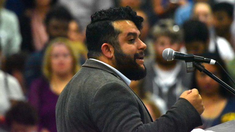 California Young Democrats President Will Rodriguez-Kennedy of San Diego