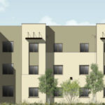 Rendering of Pacifica Apartments project