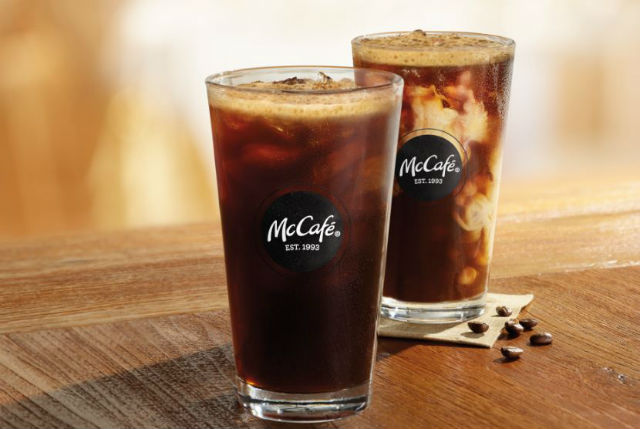 McDonald's cold brew coffee