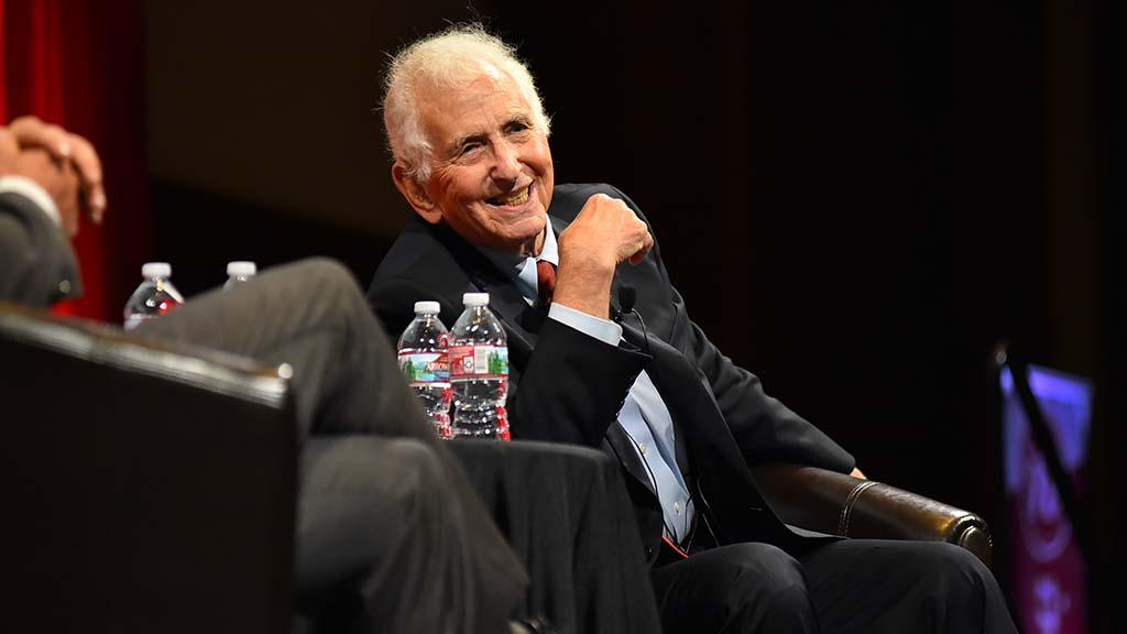 Daniel Ellsberg says a new website calling for limits to nuclear arms is letting him feel hopeful for the first time.