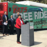 Georgette Gomez announces Free Ride Day
