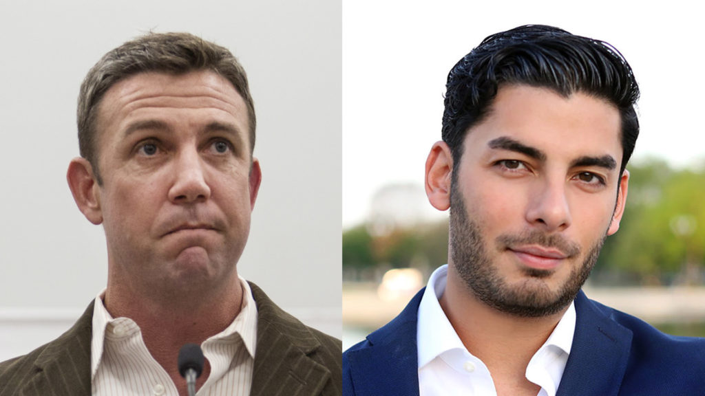 Duncan Hunter and Ammar Campa-Najjar