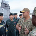 South Korean general tours the USS Bonhomme Richard