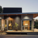 Green home in Lakeside built from shipping containers