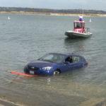 Mission Bay submerged car