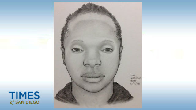 Police sketch of Pt. Loma shooting victim
