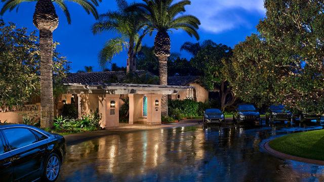Entrance to Rancho Valencia Resort & Spa