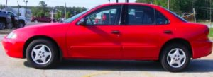 Chevrolet Cavalier similar to the one driven by shooting suspect.