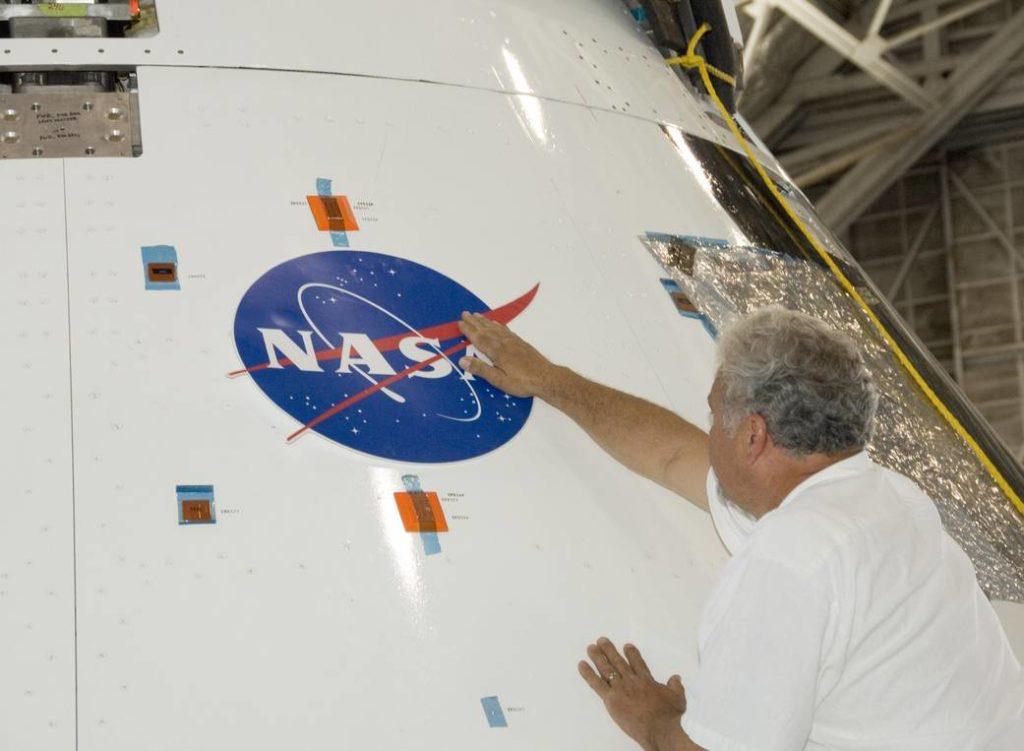 NASA Dryden visual communications manager Steve Lighthill