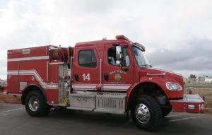 San Diego Fire-Rescue brush rig