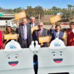 Groundbreaking ceremony for new carpool lanes