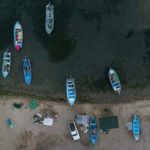 Fishing boats in the Gulf of California