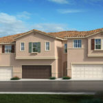 Rendering of the Sierra townhome community