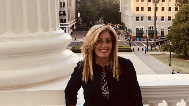 Marie Waldron in Sacramento