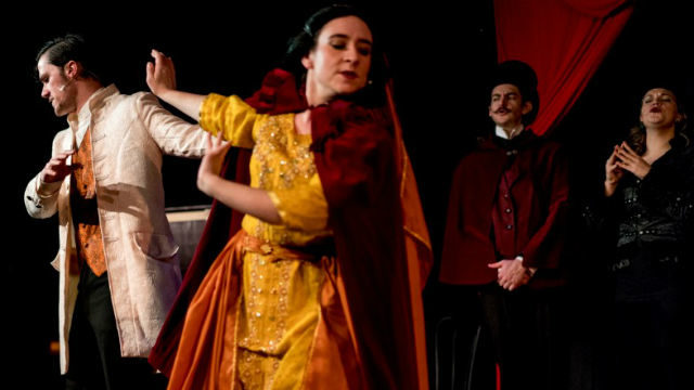 "A scene from ""The Mystery of Edwin Drood"""