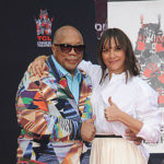 Quincy Jones with his daughter, Rashida, at the TCL Chinese Theatre ceremony. Photo courtesy of TCL Chinese Theatres
