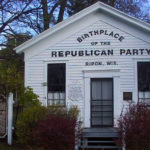 Schoolhouse in Ripon, WI, that is said to be the birthplace of the Republican Party